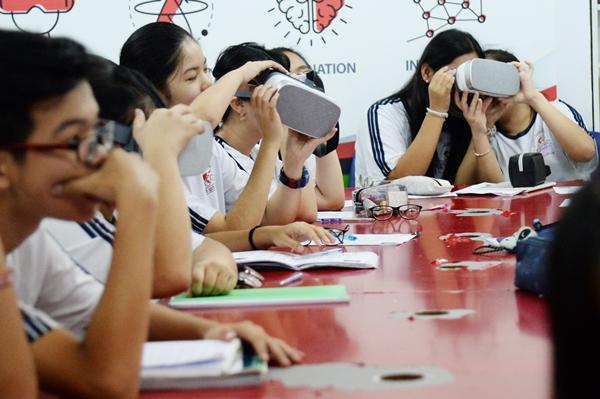 Trường học thông minh nơi thành phố thông minh