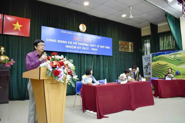 Đại hội Công đoàn cơ sở Trường THPT Lê Quý Đôn nhiệm kỳ 2017-2022
