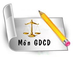 Đáp án luyện tập thi thử THPT Quốc Gia lần 2 môn GDCD