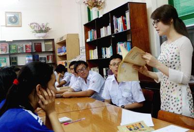 Lời giới thiệu thư viện trường THPT Lê Quý Đôn