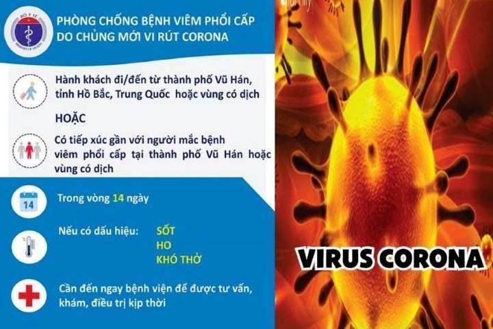 HỎA TỐC: Về công tác phòng, chống dịch bệnh viêm đường hô hấp cấp do chủng mới virus Corona (nCoV) gây ra trong trường học