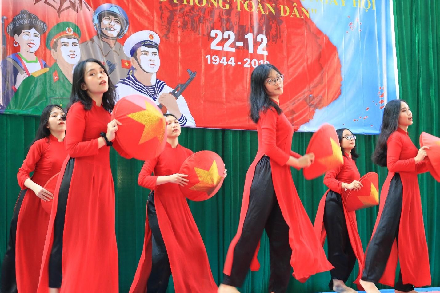 Học sinh Lê Quý Đôn với Ngày hội Quốc phòng toàn dân