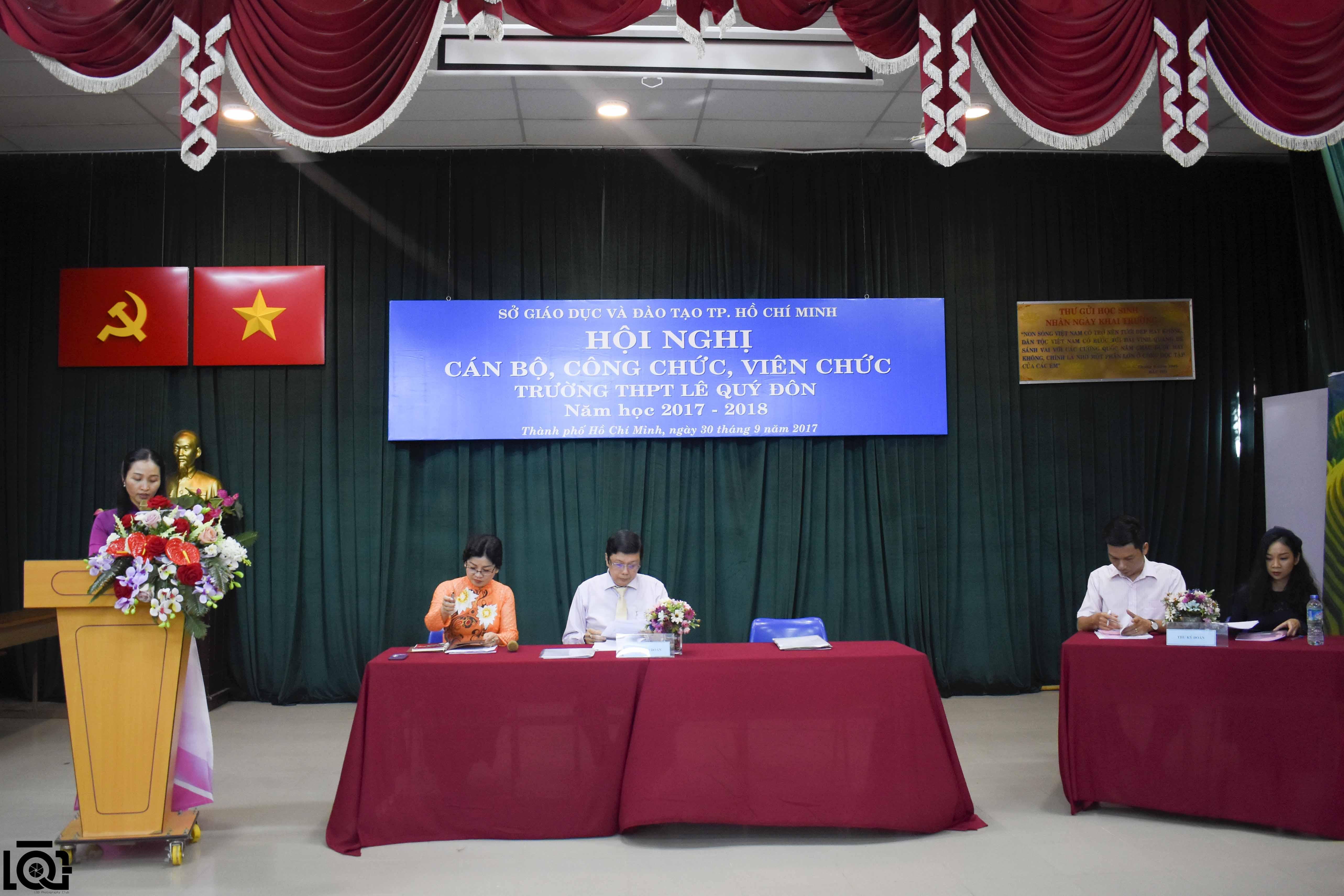 Hội nghị cán bộ, công chức, viên chức năm học 2017 - 2018