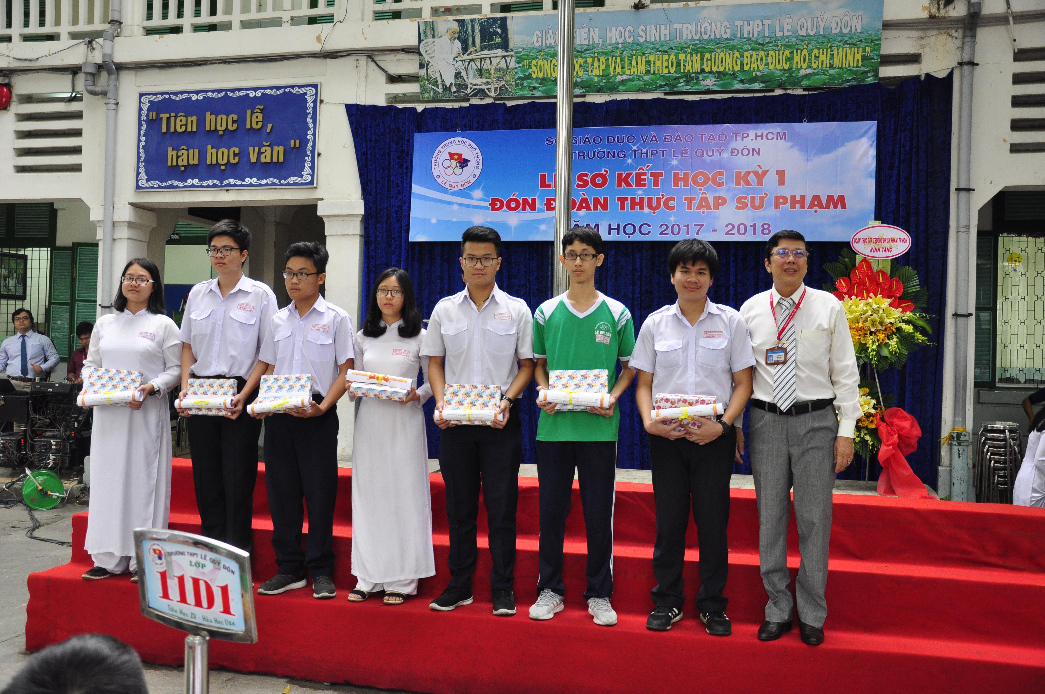 Lễ Sơ kết HKI năm học 2017 - 2018