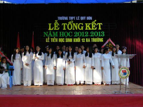 Lễ tổng kết năm học 2012 - 2013