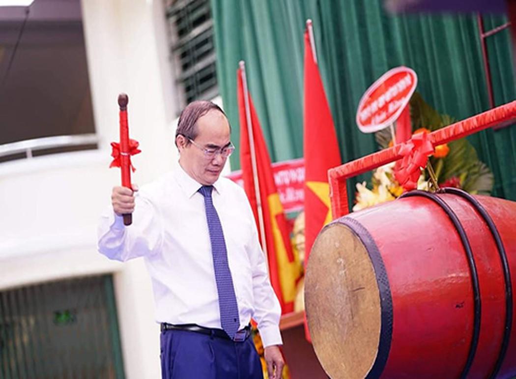 Lời dặn dò của Bí thư thành phố với học sinh Trường Lê Quý Đôn ngày khai giảng