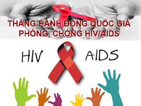 Phát động Tháng hành động phòng chống HIV/ AIDS.