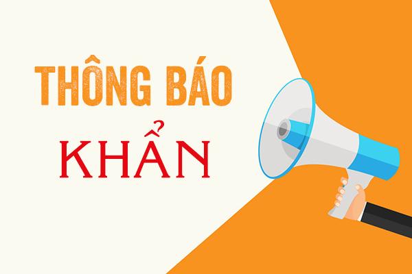 Thông báo  khẩn: Thí sinh thi tại Hội đồng thi Thành phố Hồ Chí Minh Kỳ thi tốt nghiệp trung học phổ thông năm 2021 đăng ký thay đổi địa điểm thi